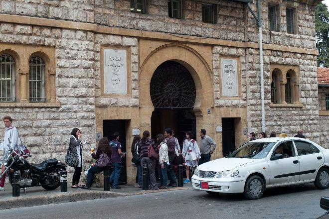 Bliss Street, Beirut, Lebanon