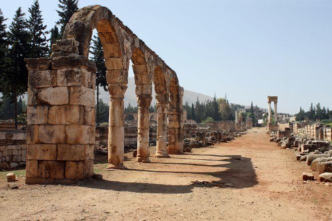 Umayyad Ruins of Aanjar, Anjar, Lebanon