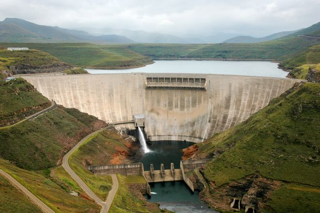 Katse Dam, Maseru, Lesotho