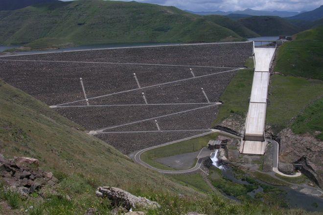 Mohale Dam, Maseru, Lesotho