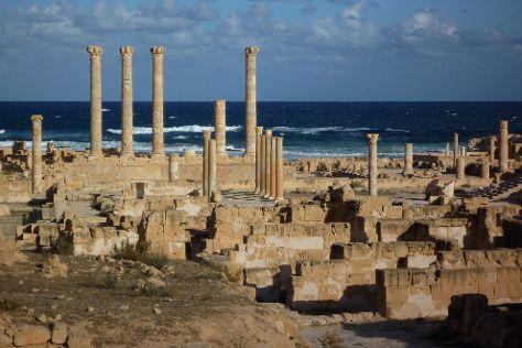 Roman Sabratha, Sabratah, Libya