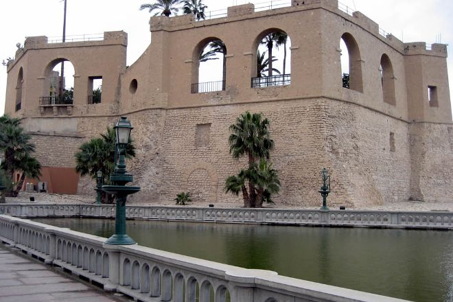 Tripoli's Red Castle (Assai al-Hamra), Tripoli, Libya