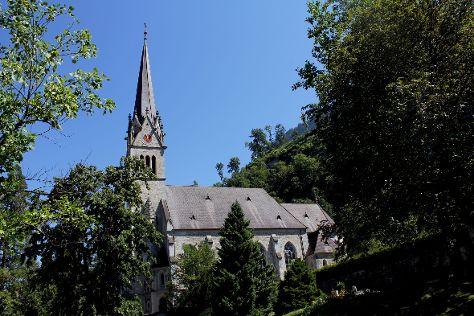 Cathedral of St. Florin, Vaduz, Liechtenstein