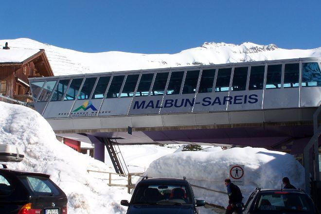 Sareis Chairlift, Malbun, Liechtenstein