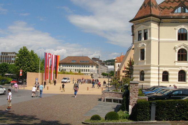 The Main Square, Vaduz, Liechtenstein