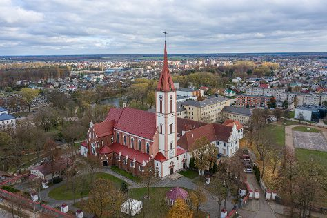 Ensemble of the Franciscan monastery and Church, Kretinga, Lithuania