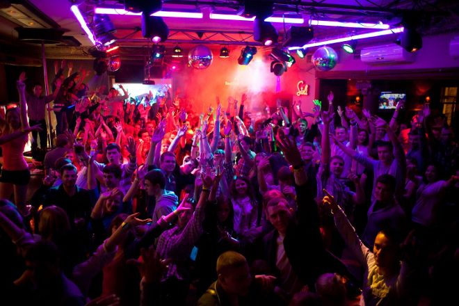 Cocainn Night club, Vilnius, Lithuania