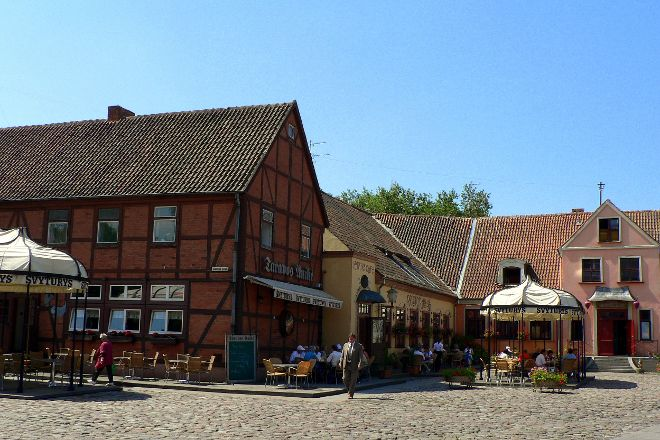 Klaipeda Old City, Klaipeda, Lithuania