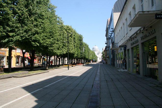 Laisves aleja (Liberty Boulevard), Kaunas, Lithuania