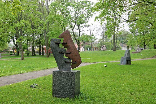 Martynas Mazvydas Sculpture Park, Klaipeda, Lithuania