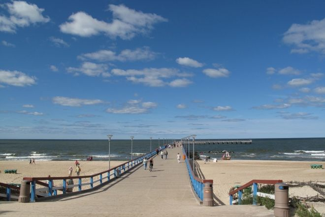 Palanga Beach, Palanga, Lithuania