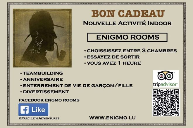 Enigmo Rooms, Dudelange, Luxembourg