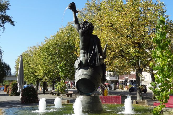 Fontaine Bacchus, Remich, Luxembourg