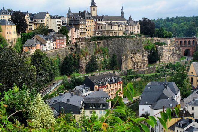 Le Chemin de la Corniche, Luxembourg City, Luxembourg