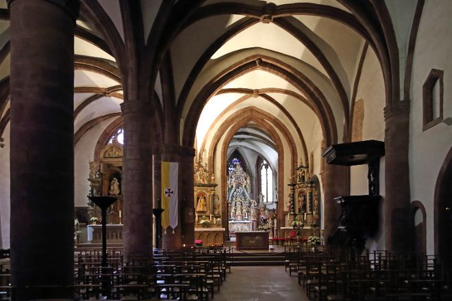 Trinitarian Church, Vianden, Luxembourg