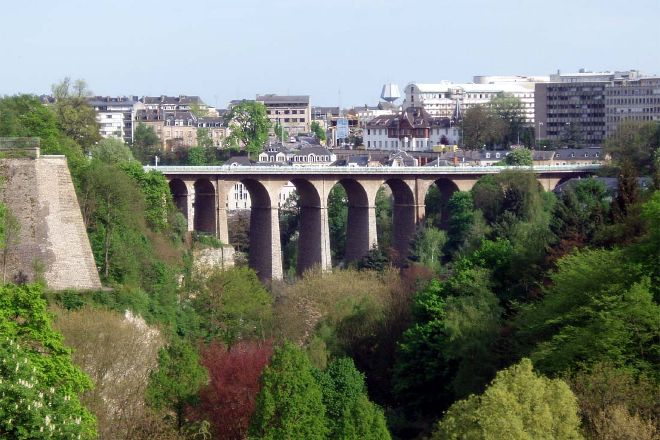 Viaduc (Passerelle), Luxembourg City, Luxembourg