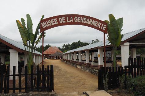 Musee de la Gendarmerie, Moramanga, Madagascar