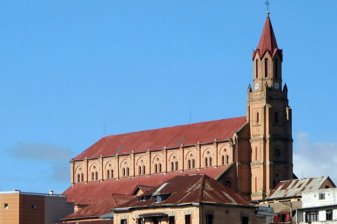 Eglise de Faravohitra, Antananarivo, Madagascar
