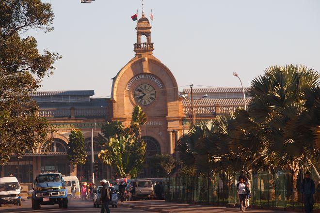 Gare de Soarano, Antananarivo, Madagascar