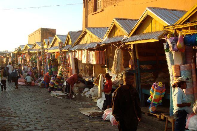 Open-air markets: Andravoahangy, Antananarivo, Madagascar