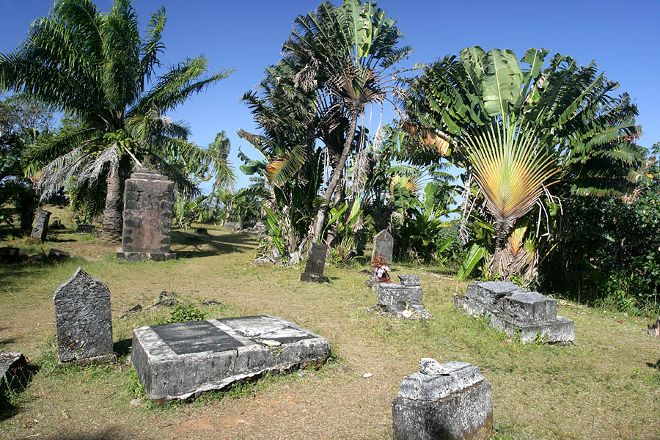 Pirate Cemetery on Nosy Boraha, Nosy Boraha, Madagascar