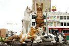 Cat Monument