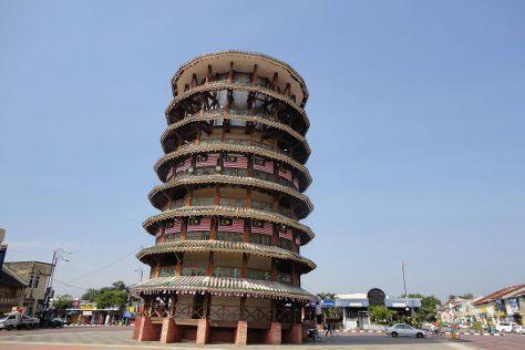 Leaning Tower of Teluk Intan, Teluk Intan, Malaysia