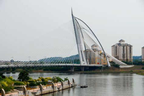 Putrajaya Bridge, Putrajaya, Malaysia