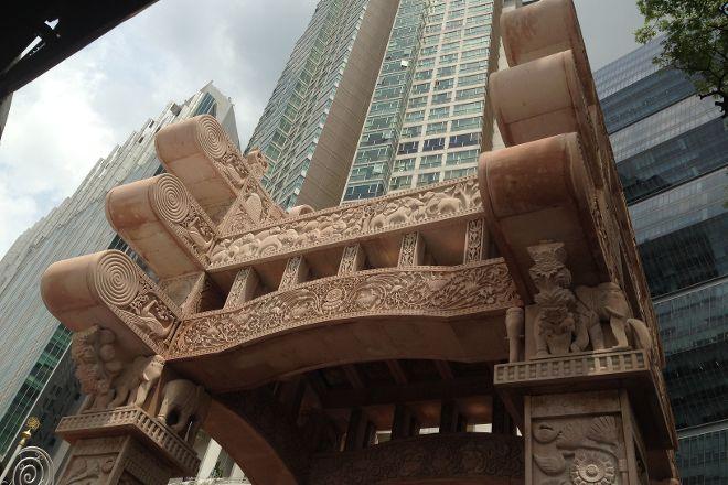 'Torana' Gate, Kuala Lumpur, Malaysia