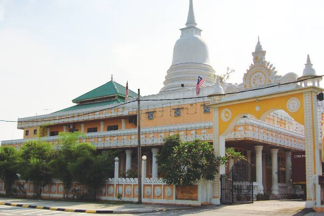 Buddha Jayanti Temple, Kuala Lumpur, Malaysia