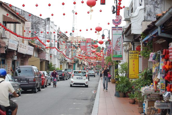 Jonker Street Night Market, Melaka, Malaysia