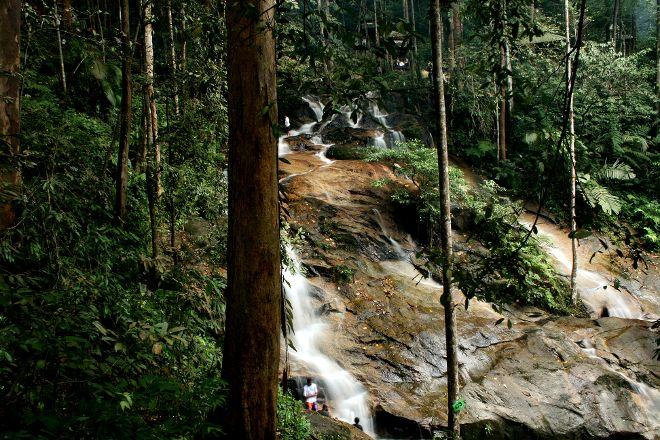 Kanching Rainforest Waterfall, Kuala Lumpur, Malaysia