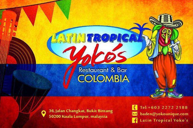 Latin Tropical Yoko's, Kuala Lumpur, Malaysia