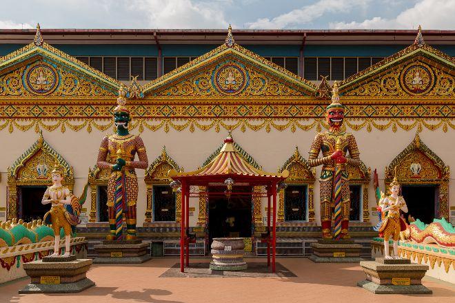 Reclining Buddha Wat Chaiyamangalaram, George Town, Malaysia