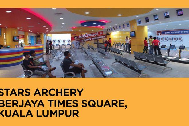 Stars Archery Berjaya Times Square, Kuala Lumpur, Malaysia