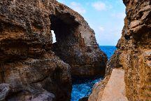 Wied il-Mielah Window, Gharb, Malta