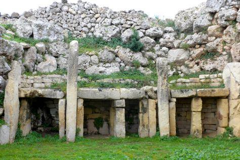 Ggantija Megalithic Temples, Ggantija, Malta
