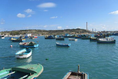 Marsaxlokk Bay, Marsaxlokk, Malta