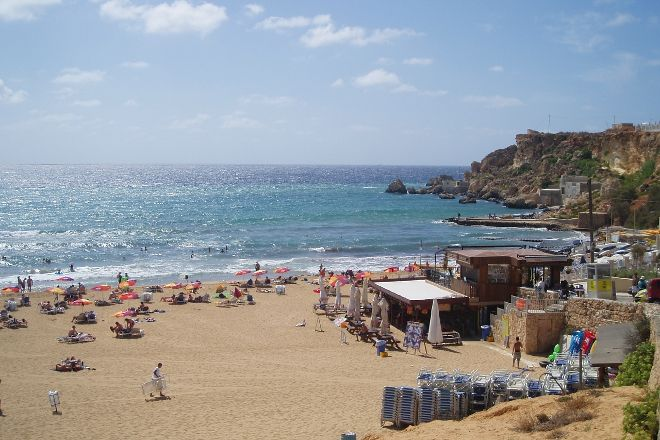 Golden Sands Beach, St. Paul's Bay, Malta