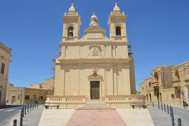 Saint Lawrence Parish Church, San Lawrenz, Malta
