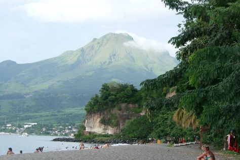 Montagne Pelee, Arrondissement of Saint-Pierre, Martinique