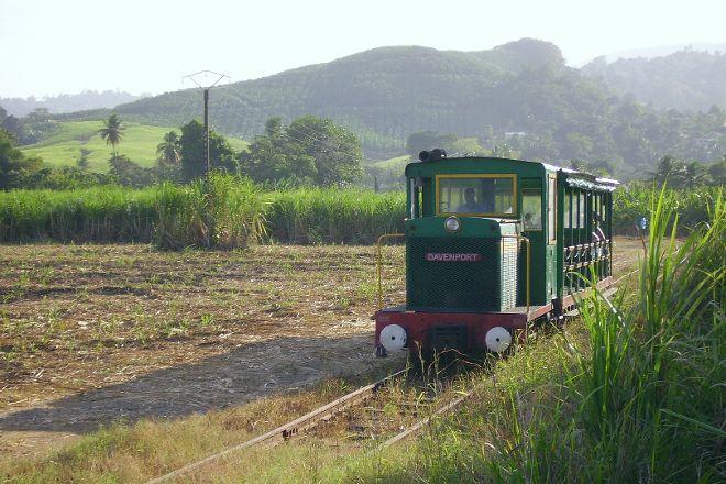 Le Train des Plantations, Sainte Marie, Martinique