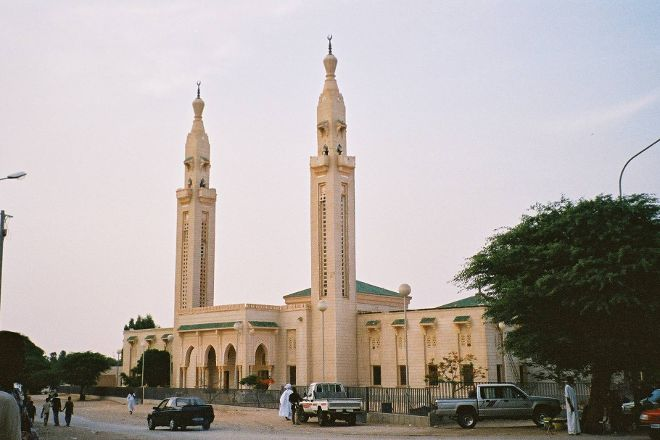 Saudi mosque, Nouakchott, Mauritania