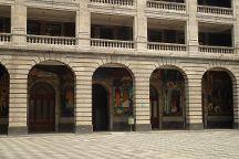 Murales de Diego Rivera en la Secretaria de Educacion Publica, Mexico City, Mexico