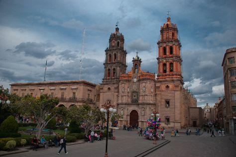 Cathedral of San Luis Potosi, San Luis Potosi, Mexico