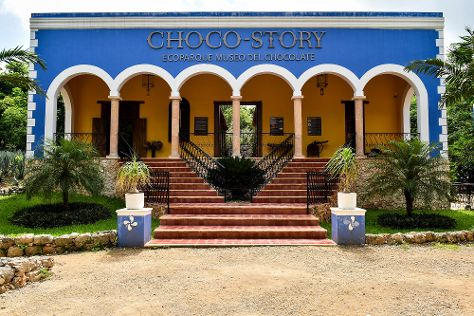 Choco Story uxmal, Uxmal, Mexico