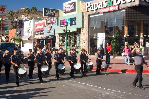 First Street, Ensenada, Mexico