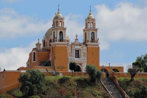 Santuario de la Virgen de los Remedios, San Pedro Cholula, Mexico