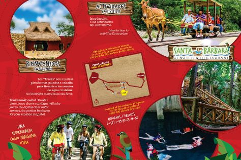Santa Barbara Cenotes & Restaurant, Homun, Mexico