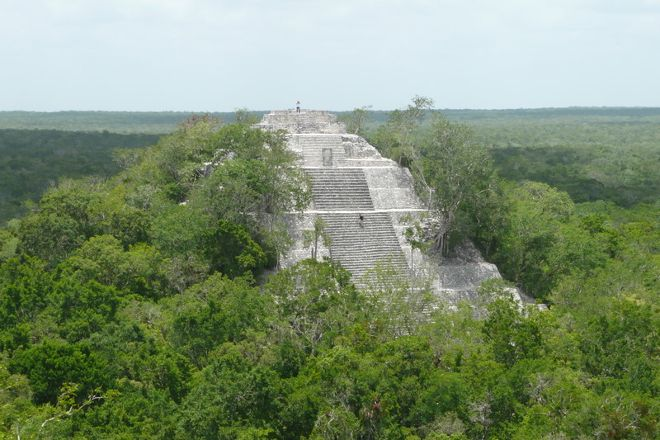 Calakmul Archaeological Zone, Campeche, Mexico
